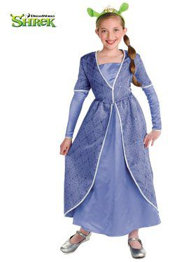 Youth Deluxe Princess Fiona Costume