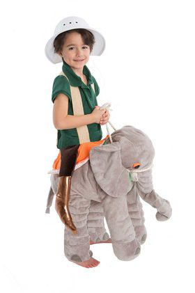 Youth Elephant Rider Play Costume