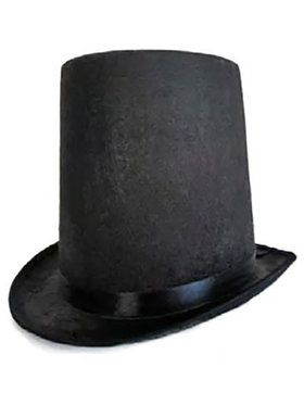 Youth's Felt Lincoln Stovepipe Hat