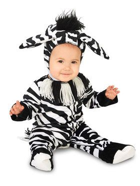 Zany Zebra Infant Costume
