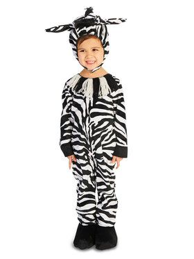 Zany Zebra Costume For Toddlers
