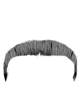 Dark Grey Zapata Moustache