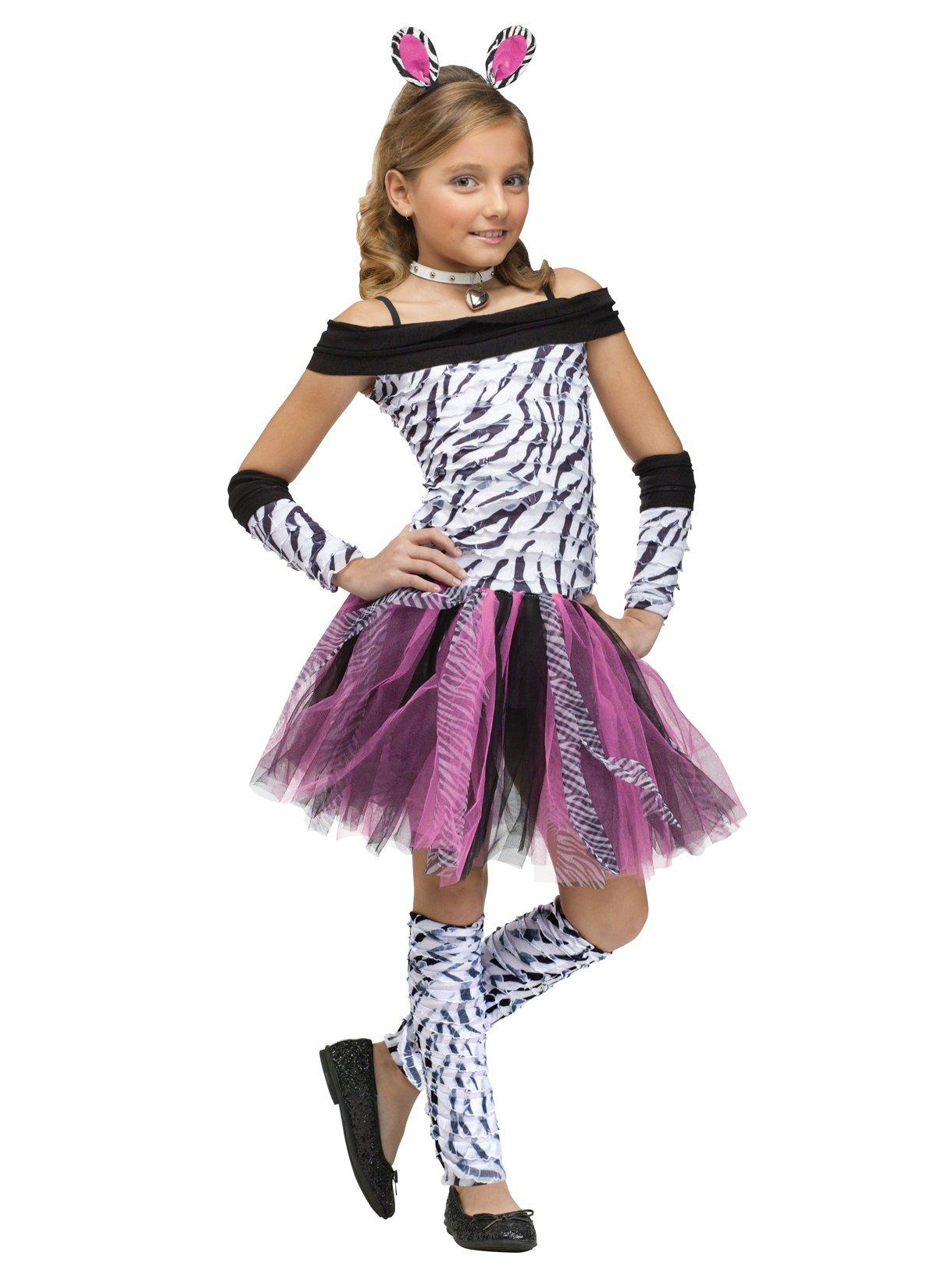 Fun World Kids Zebra Costume