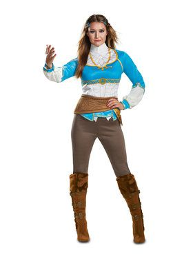 Zelda Breath of the Wild Costume Women's