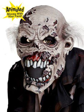 Zombie Ani-Motion Mask Adult