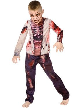 Zombie Costume For Children