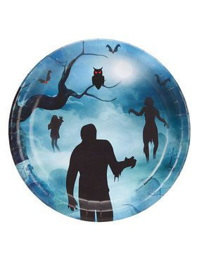 Zombie Dinner Plate (8)