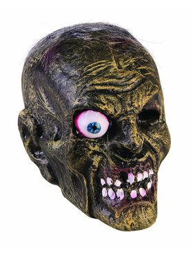 Zombie Head Facemask for Adults