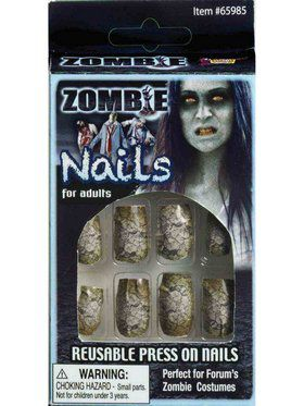 Set of Zombie Nails
