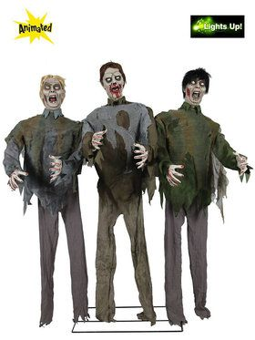 Zombie Trio Three Piece Prop Set