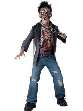 Zombie Unchained Horror Boys Costume
