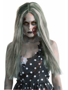 Halloween Group Costumes Scary.Zombie Wig Creepy Adult
