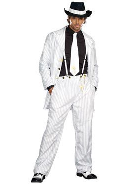 Zoot Suit Riot Men's Suit Adult Costume