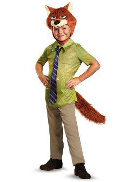 Zootopia Nick Wilde Classic Boys Costume