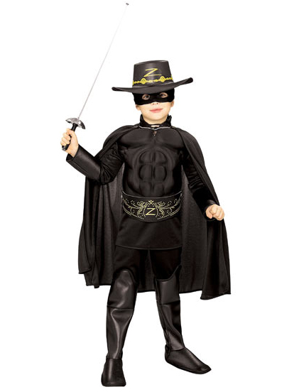 Rubie's Zorro Muscle Chest Adult Costume